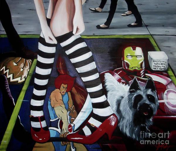Wall Art - Painting - The Wizard Of Oz by John McGlynn