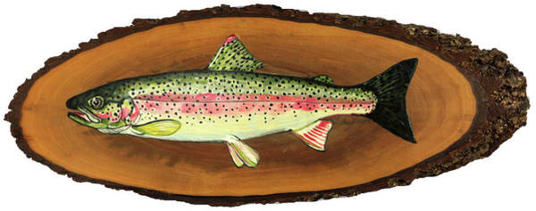 Painting - The Wood-be Catch Of The Day by Phil Chadwick