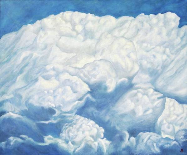 Wall Art - Painting - Cloud Series. The World Of Animals In The Clouds by SurfArtTango Marina Lisovaya