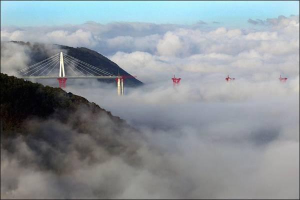 Photograph - The Worlds Highest Bridge Under by Raphael Gaillarde