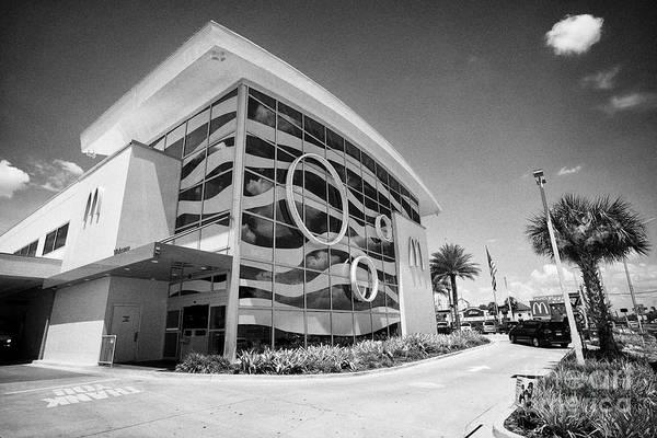 Wall Art - Photograph - The Worlds Largest Entertainment Mcdonalds Restaurant On International Drive Orlando Florida Usa by Joe Fox