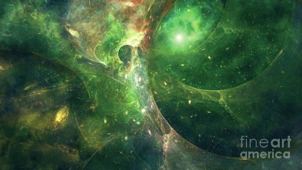 Wall Art - Digital Art - The Wormhole by Ryan Rad