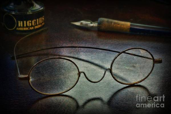 Wall Art - Photograph - The Writer And The Optometrist  by Paul Ward