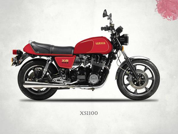 Photograph - The Yamaha Xs1100 by Mark Rogan