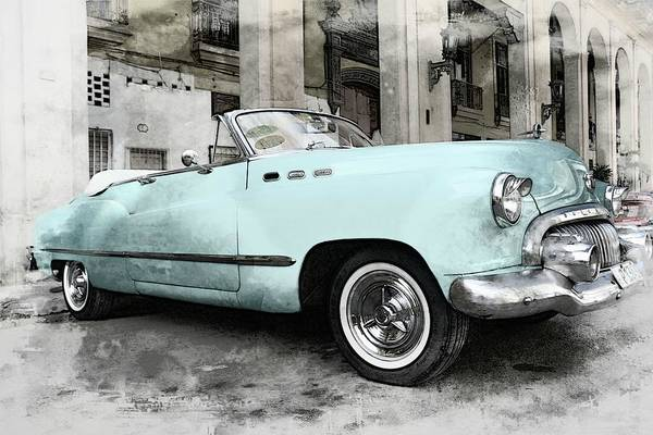 Wall Art - Photograph - The Yesteryear Buick by Toni Abdnour