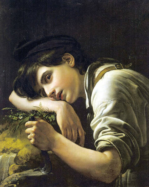 Painting - The Young Gardener by Orest Kiprensky