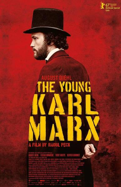 Wall Art - Digital Art - The Young Karl Marx 2017 by Geek N Rock