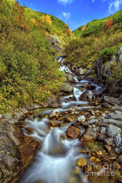 Photograph - The Zillertal Valley by Bernd Laeschke