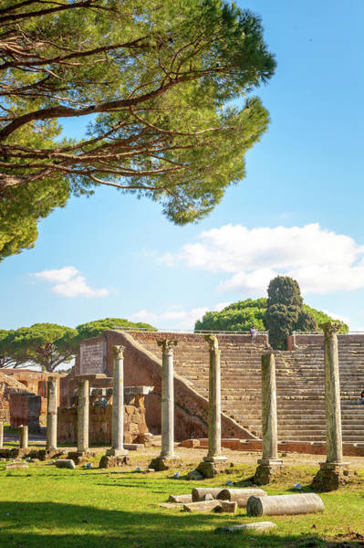 Wall Art - Photograph - Theater At Ostia Antica by W Chris Fooshee