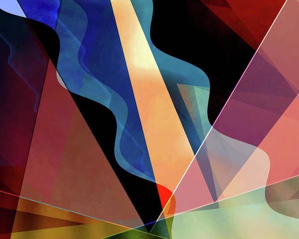 Wall Art - Digital Art - Theater District by Jon Woodhams