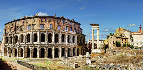 Photograph - Theater Of Marcellus by Weston Westmoreland