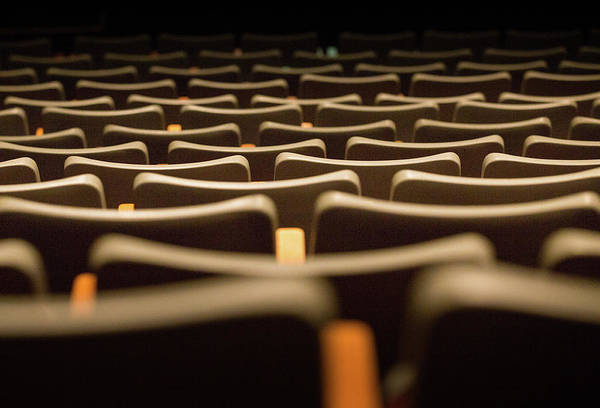 Photograph - Theater Seats by Juan Contreras