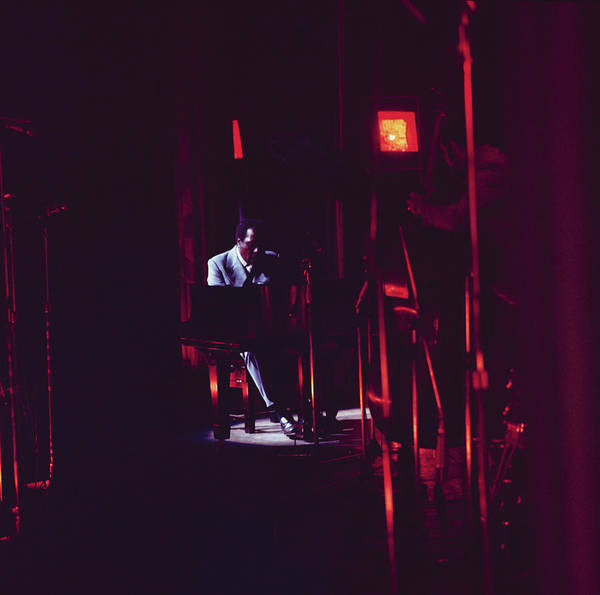 Piano Photograph - Thelonious Monk Performs On Stage by David Redfern
