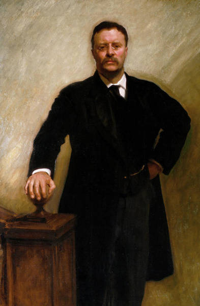 Wall Art - Painting - Theodore Roosevelt, 1903 by John Singer Sargent