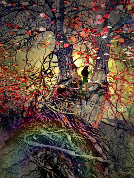 Digital Art - There Are Roots In My Rainbows And Rainbows In My Roots by Tara Turner