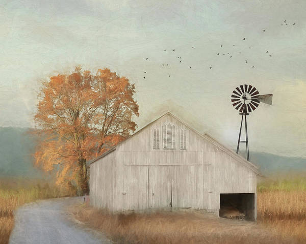 Wall Art - Mixed Media - There's Something About Fall by Lori Deiter