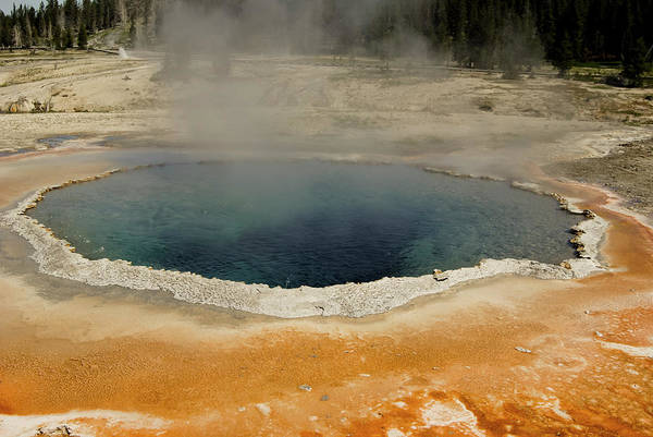 Sulphur Photograph - Thermal Pool by Mrod