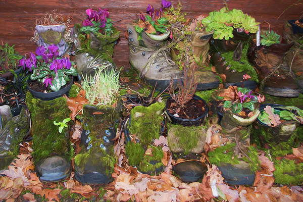 Trekking Digital Art - These Boots Are Made For Walking 3 by Roy Pedersen