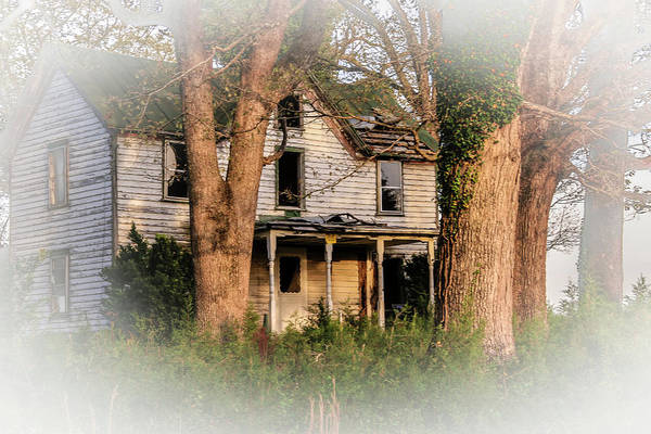 Photograph - These Old Houses  by Ola Allen
