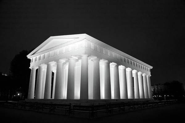 Wall Art - Photograph - Theseus Temple In Vienna by Ian Middleton