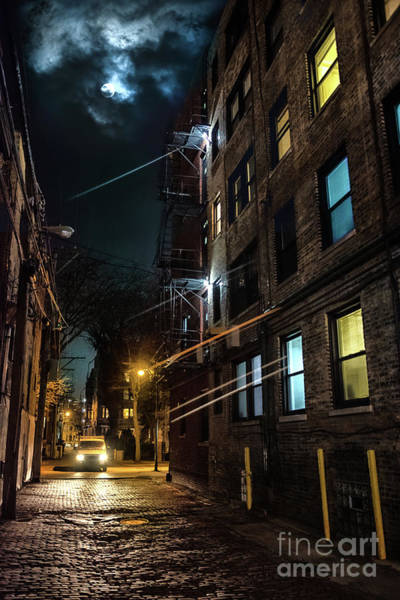 Drive Wall Art - Photograph - They Drive By Night In Chicago by Bruno Passigatti