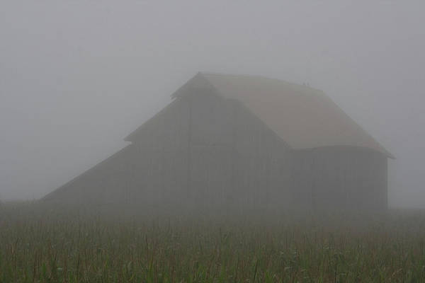 Photograph - Thick Air Barn by Dylan Punke