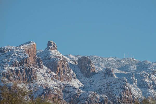 Photograph - Thimble Peak Snow Day by Dan McManus
