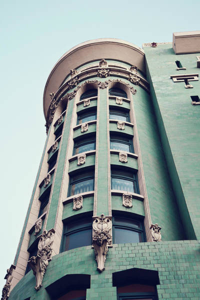 Wall Art - Photograph - Things Are Looking Up - San Francisco Architecture by Melanie Alexandra Price