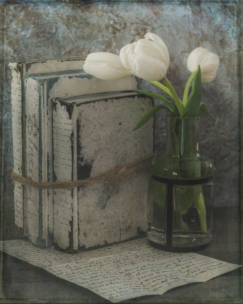 Photograph - Thinking Of You - Still Life With Tulips By Tl Wilson Photography by Teresa Wilson