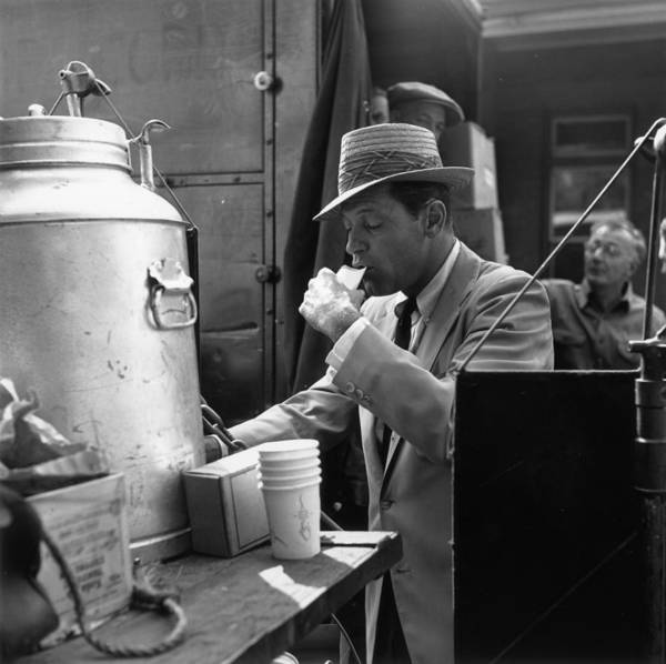 Photograph - Thirsty Work by Hulton Archive