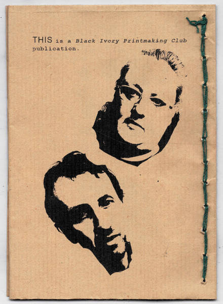 Photograph - This Album Booklet - Edgeworth And Emma Pugmire by Artist Dot