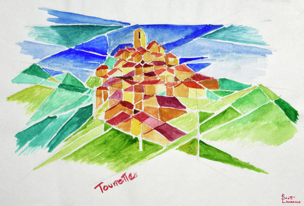 Wall Art - Photograph - This Is A Cubist View Of Tourette by Richard Lawrence