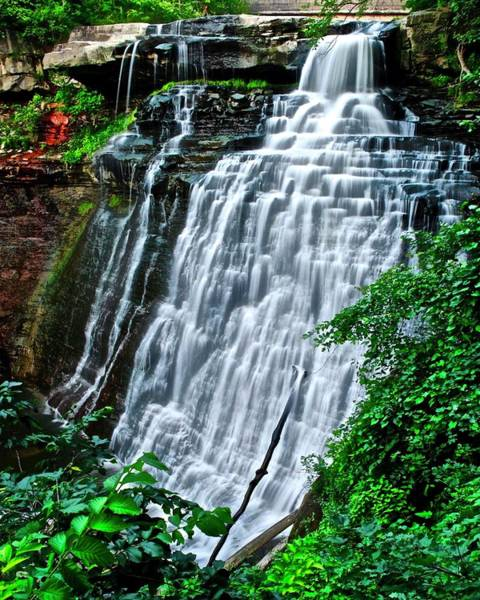 Wall Art - Photograph - This Is Brandywine Falls by Frozen in Time Fine Art Photography