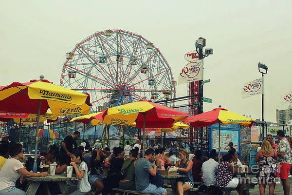 Wall Art - Photograph - This Is Coney Island by Dora Sofia Caputo Photographic Design and Fine Art