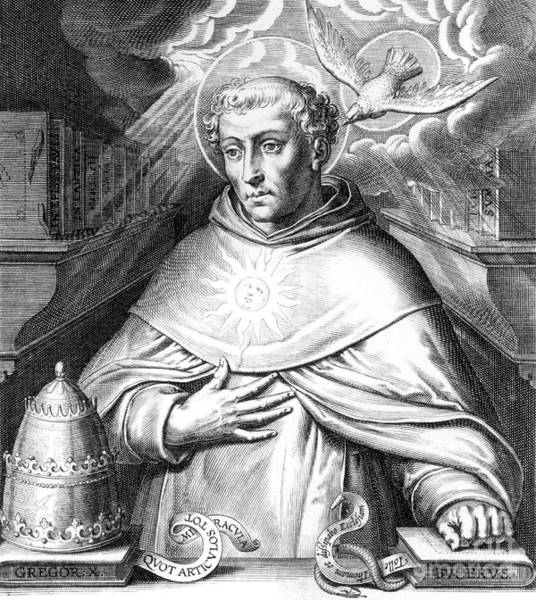 Wall Art - Drawing - Thomas Aquinas By Cornelis Boel by Cornelis Boel
