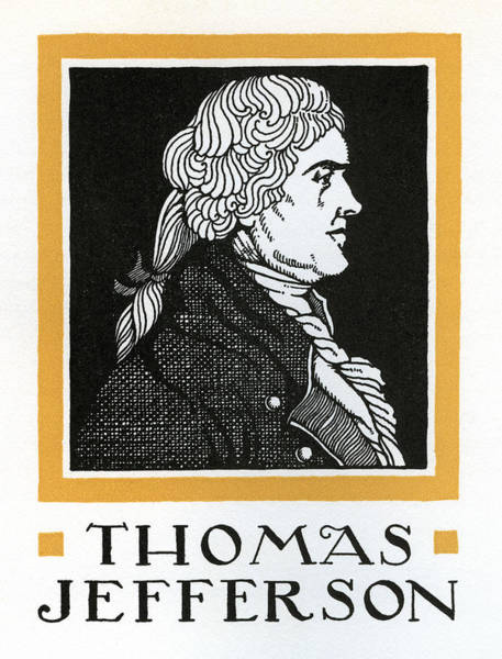 Declaration Of Independence Digital Art - Thomas Jefferson by Graphicaartis