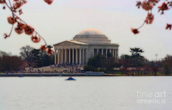 Photograph - Thomas Jefferson Memorial by Patti Whitten