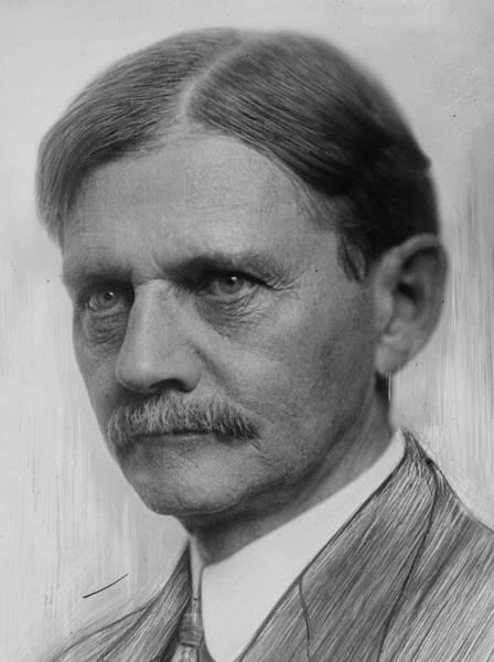 Painting - Thomas Marshall, Bain Photo Portrait, Circa 1912 by Celestial Images