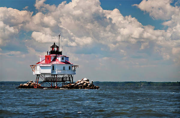 Photograph - Thomas Point Shoal Lighthouse by Jill Love