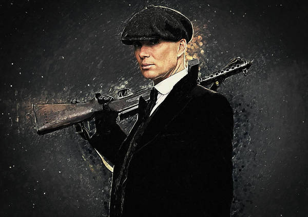 World War 1 Digital Art - Thomas Shelby by Zapista Zapista