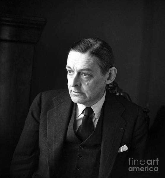 Wall Art - Photograph - Thomas Stearns Eliot by Rene Saint Paul