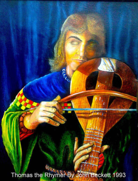 Baroque Mixed Media - Thomas The Rhymer by John Baroque