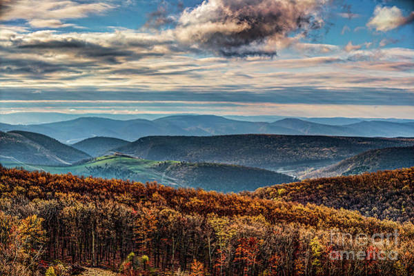 Wall Art - Photograph - Thomas Wv Area Mountains 2104hdrt by Doug Berry