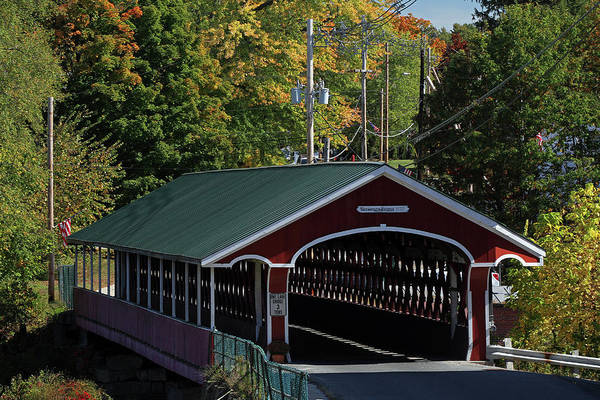 Photograph - Thomson Covered Bridge by Juergen Roth