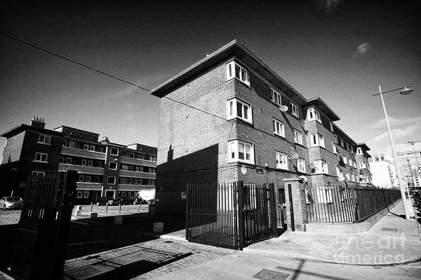 Wall Art - Photograph - Thorncastle Street Flats Ringsend Dublin Republic Of Ireland Europe by Joe Fox