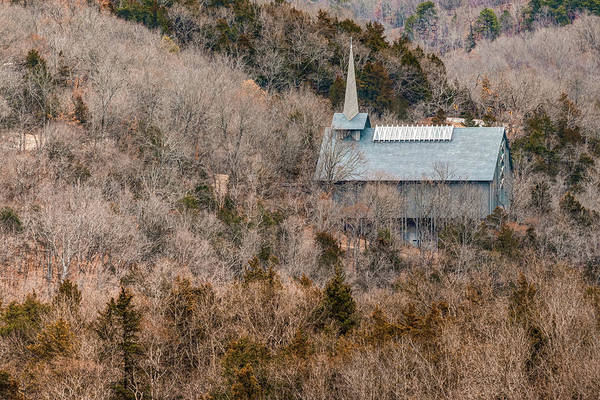 Eureka Springs Photograph - Thorncrown Worship Center Architecture And Landscape - Eureka Springs Arkansas by Gregory Ballos