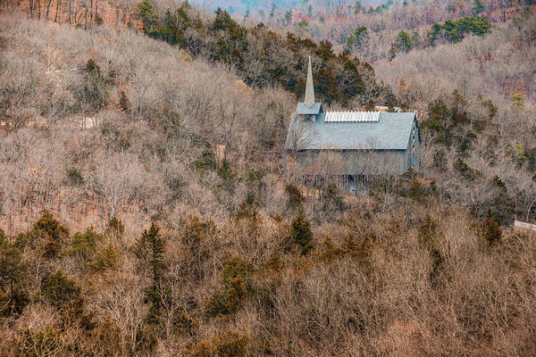 Eureka Springs Photograph - Thorncrown Worship Center Of The Ozark Mountains - Eureka Springs Arkansas by Gregory Ballos