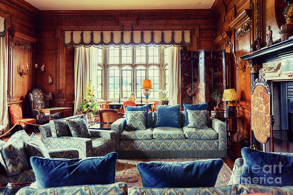 Photograph - Thorpe Hall In Leeds Castle, Kent by Ariadna De Raadt