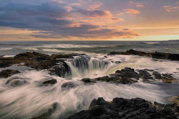 Wall Art - Photograph - Thor's Well by Emmanuel Panagiotakis
