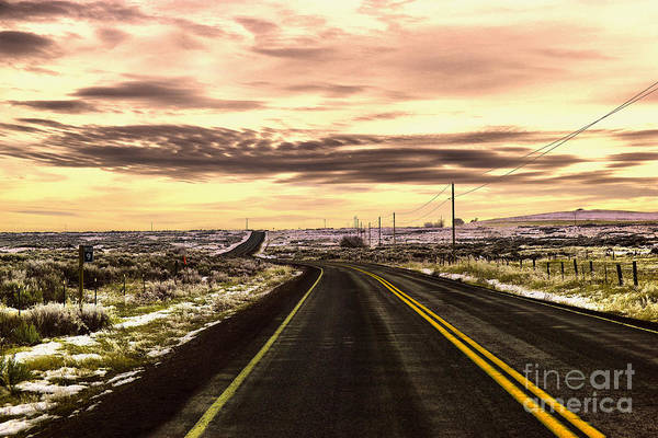 Middle Of Nowhere Photograph - Those Long Winding Roads  by Jeff Swan